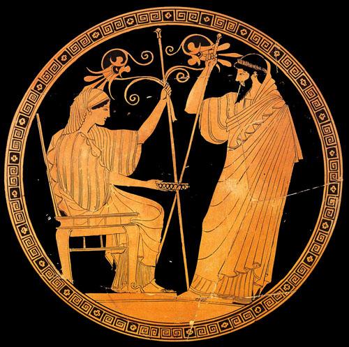 Древнегреческая ваза